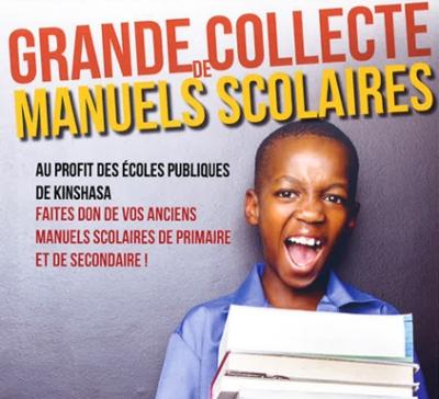 Grande collecte de manuels scolaires