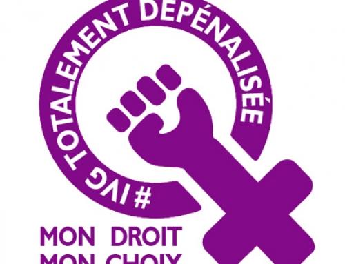 Dépénalisation de l'IVG: on avance!