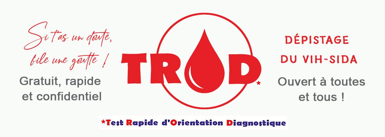 Dépistage VIH-Sida TROD rapide, gratuit et confidentiel