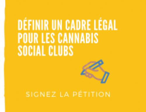 Définir un cadre légal pour les Cannabis Social Clubs